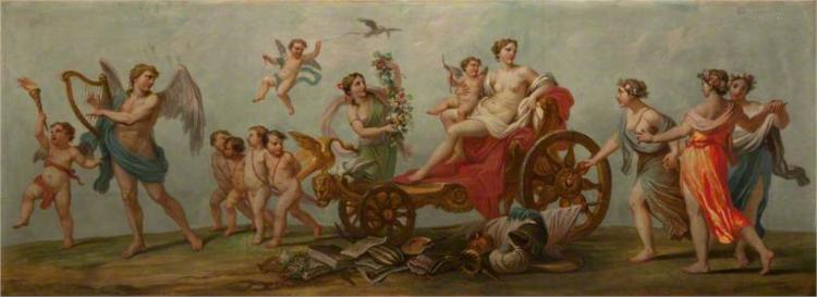 The Four Seasons. Winter – Aeolus with the Winds - William Hamilton
