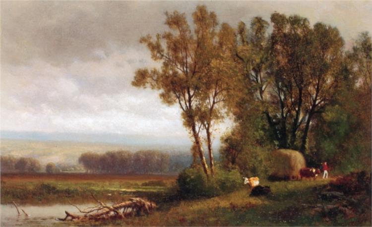 Scene near Albany, 1873 - William Hart