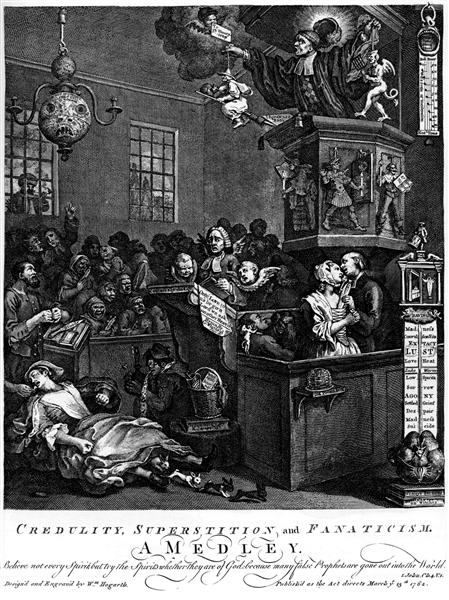 Credulity, Superstition, and Fanaticism - William Hogarth