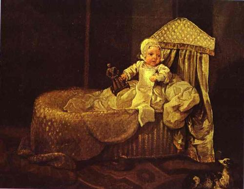 The Great Historical Captions Challenge! Gerard-anne-edwards-in-his-cradle-1733.jpg!Blog