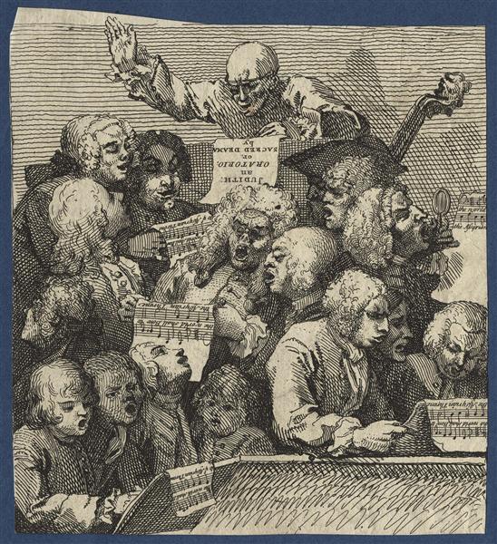 The Chorus - William Hogarth