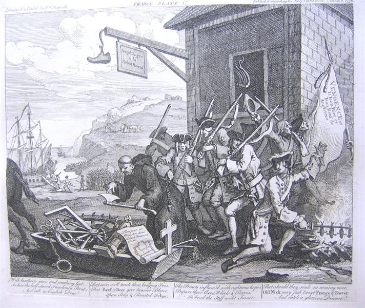 The Invasion, France - William Hogarth