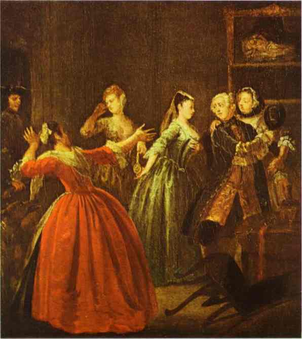 The theft of a watch william hogarth for William hogarth was noted for painting