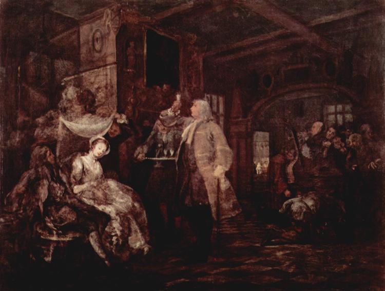 The Wedding Banquet, c.1745 - William Hogarth