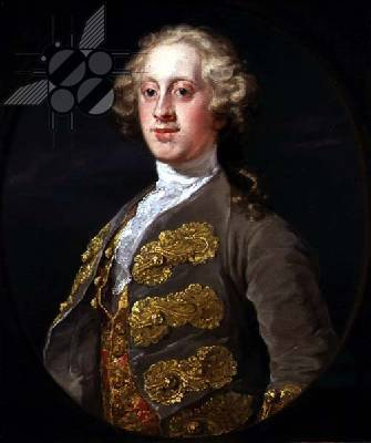 William Cavendish, Marquess of Hartington, Later 4th Duke of Devonshire, 1741 - William Hogarth