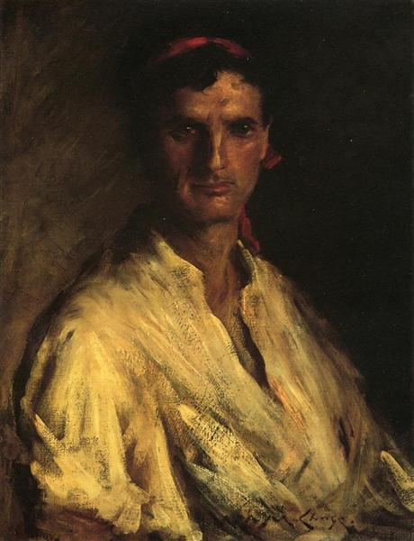 A Young Roman - Уильям Меррит Чейз