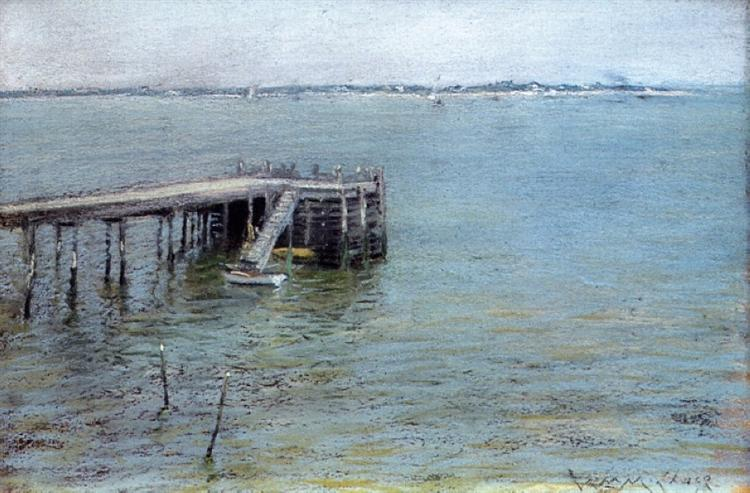 Gravesend Bay (aka The Lower Bay), 1889 - William Merritt Chase