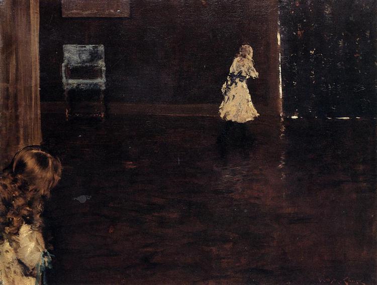 Hide and Seek, 1888 - William Merritt Chase