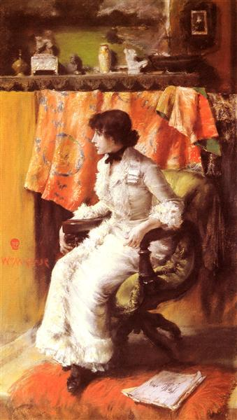 In The Studio, 1884 - William Merritt Chase