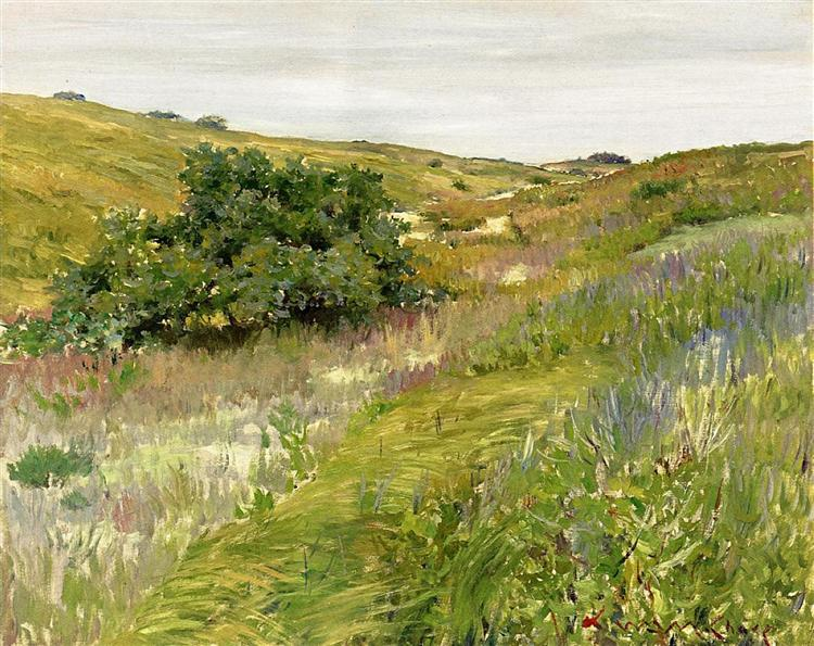 Landscape, Shinnecock Hills, 1898 - 1900 - William Merritt Chase