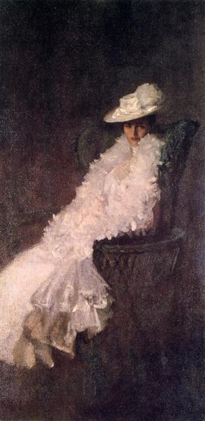 My Daughter Dieudonnee (aka Alice Dieudonnee Chase), c.1902 - Вільям Меріт Чейз