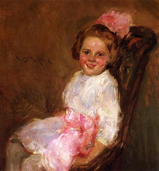 Portrait of Helen, Daughter of the Artist, 1900 - William Merritt Chase