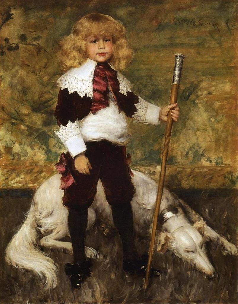 Portrait of James Rapelje Howell - William Merritt Chase ...