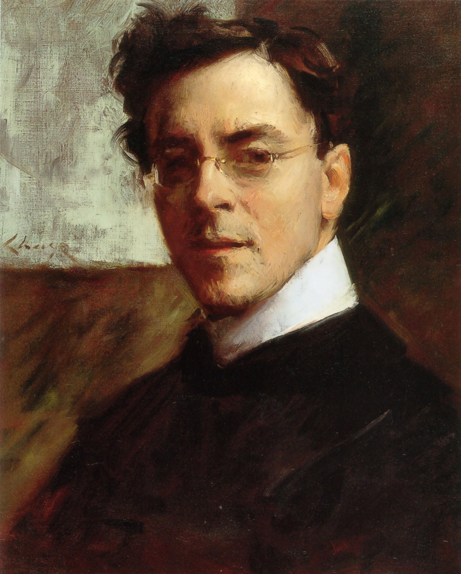 Portrait of Louis Betts - William Merritt Chase - WikiArt.org