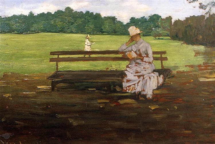 Prospect Park, Brooklyn, 1886 - William Merritt Chase