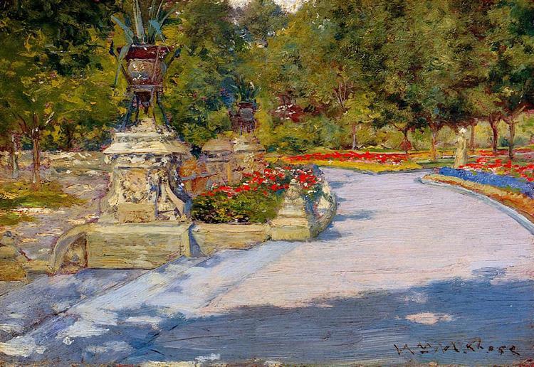 Prospect Park, 1886 - William Merritt Chase