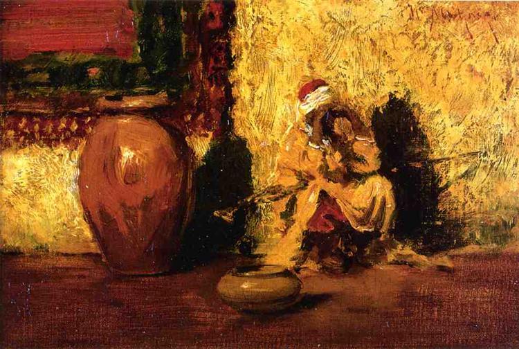 Seated Figure, c.1881 - William Merritt Chase