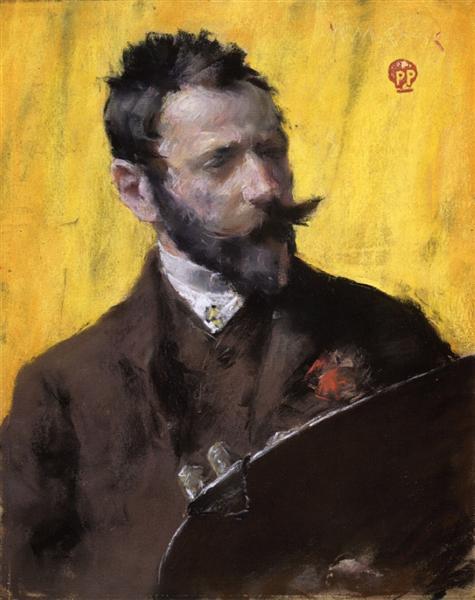 Self Portrait, 1883 - William Merritt Chase