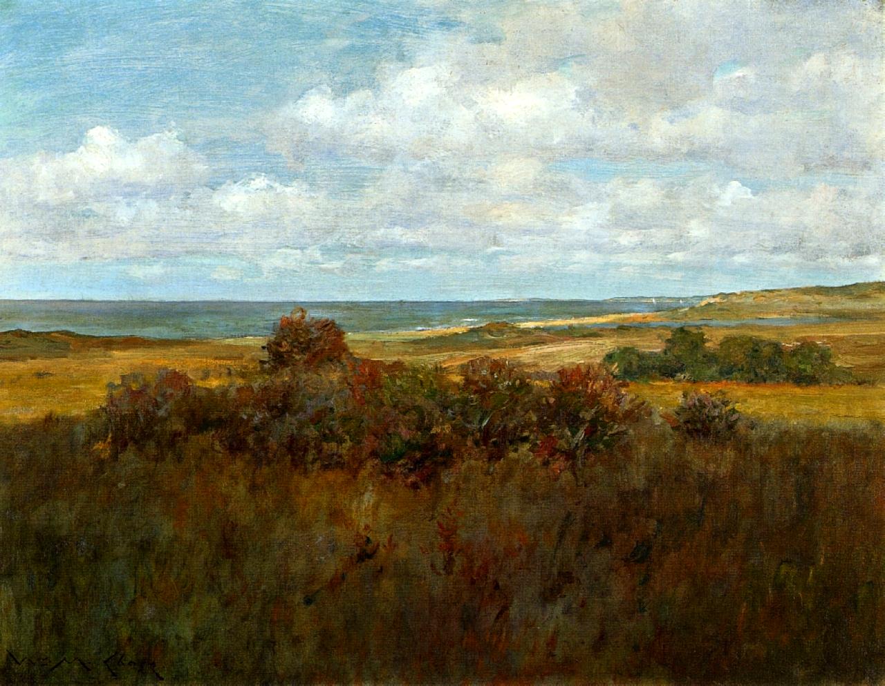 Shinnecock Landscape William Merritt Chase Wikiart Org