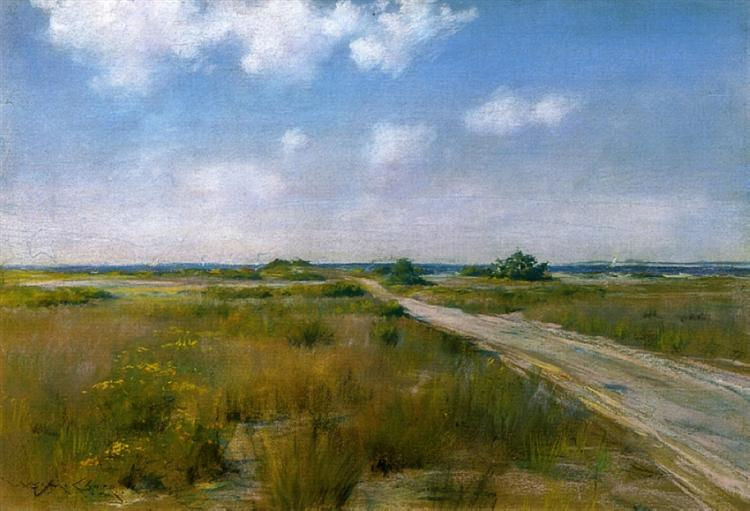 Shinnecock Landscape, c.1895 - William Merritt Chase