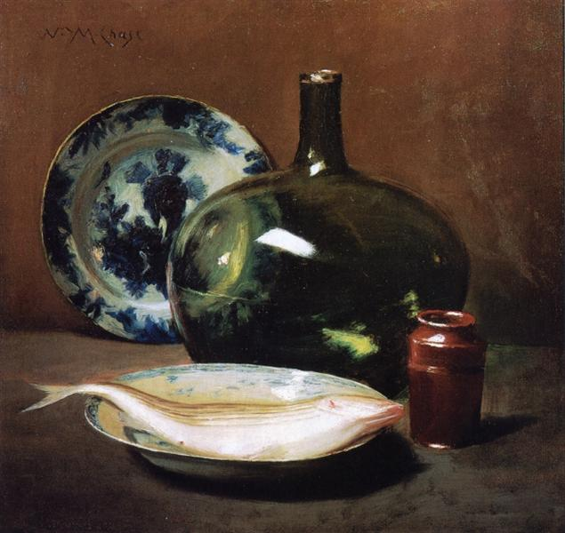 Still Life with Fish - William Merritt Chase