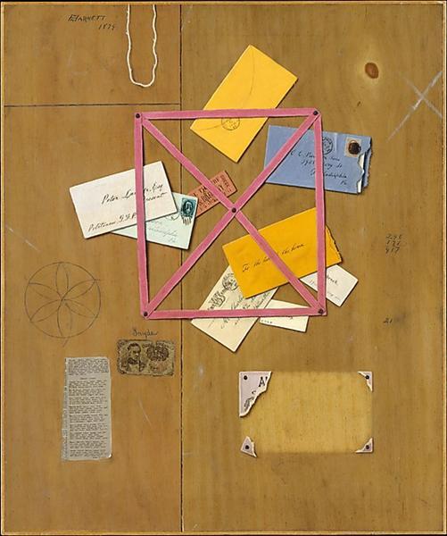 The Artist's Letter Rack, 1879 - William Michael Harnett