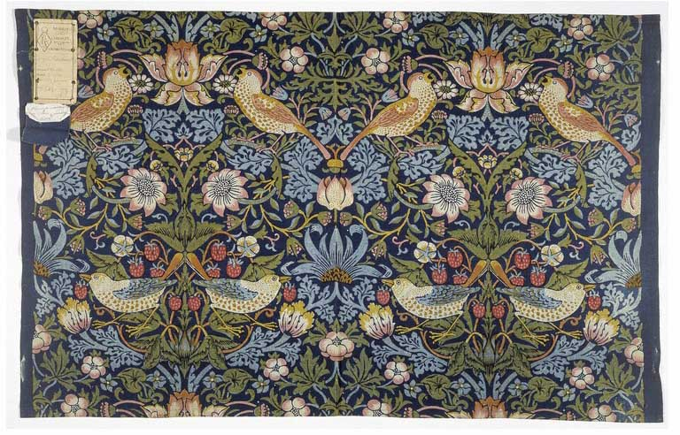 Strawberry Thief Furnishing Fabric 1883 William Morris