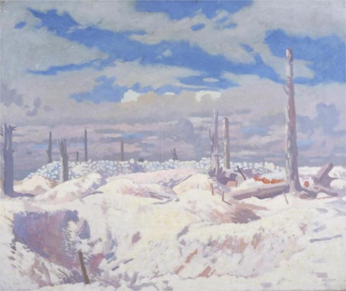 Schwaben Redoubt, 1917 - William Orpen