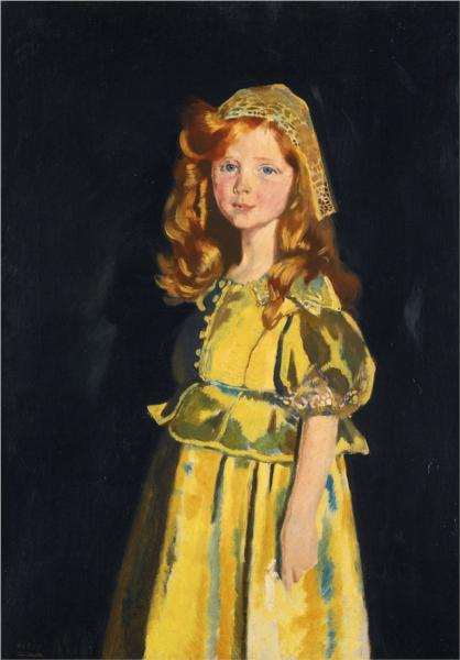 Vivien St George, 1918 - Вільям Орпен