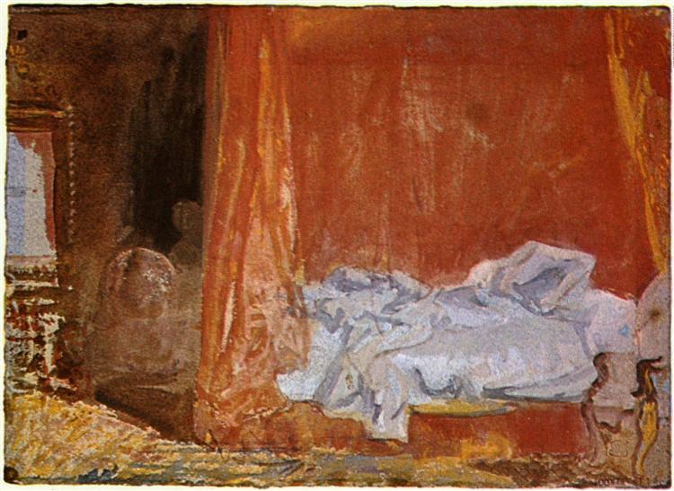 One bedroom - J.M.W. Turner