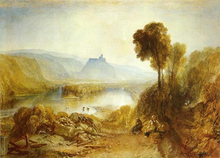 Prudhoe Castle, Northumberland, 1826 - J.M.W. Turner