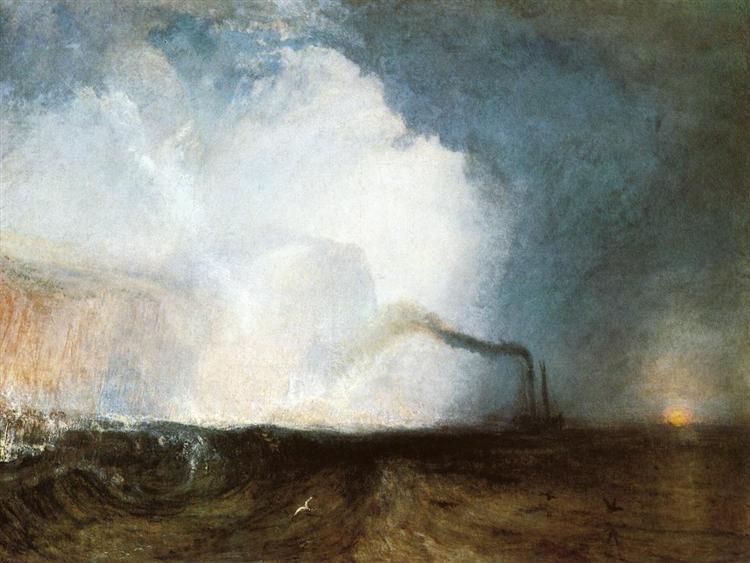 Staffa, Fingal's Cave, 1832 - J.M.W. Turner