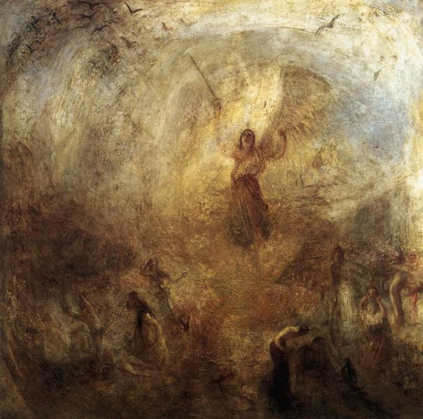 The Angel Standing in the Sun, 1846 - J.M.W. Turner