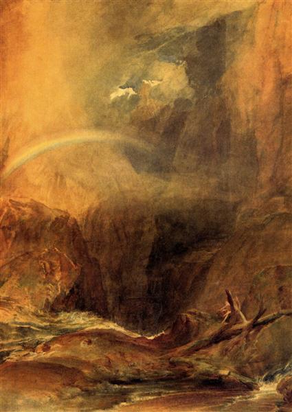 The Devil's Bridge, St. Gothard - J.M.W. Turner