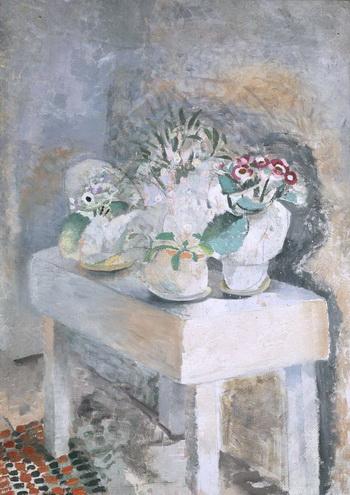Flower Table, 1929 - Winifred Nicholson