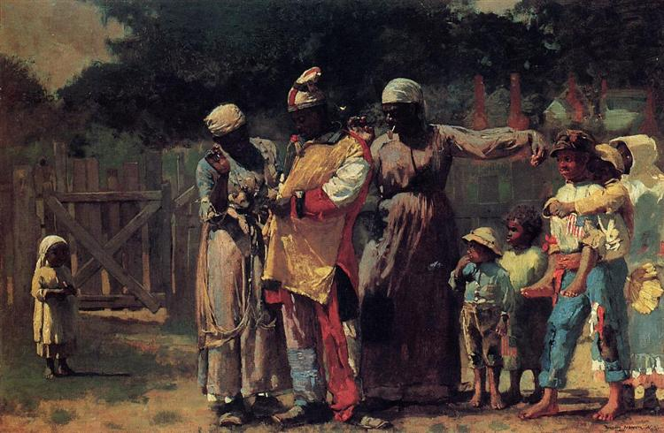 Dressing for the Carnival, 1877 - Winslow Homer