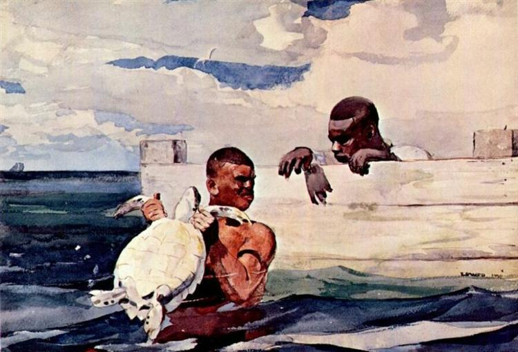 The Turtle Pound - Winslow Homer