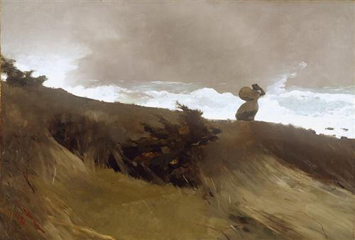 The West Wind - Winslow Homer