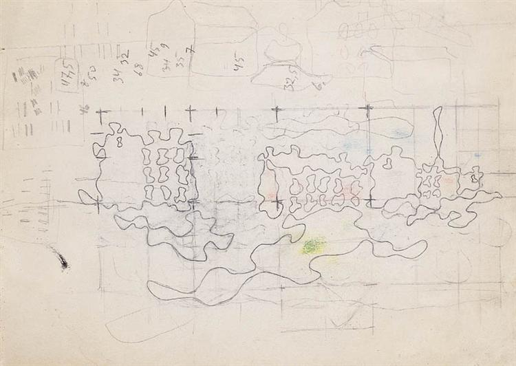 A Sketch, 1941 - Wladyslaw Strzeminski