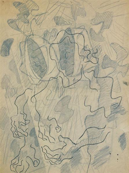 Żniwiarki, 1950 - Wladyslaw Strzeminski