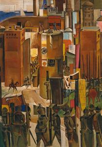 The Surrender of Barcelona - Wyndham Lewis