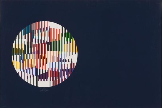 Night Constellation, 1979 - Yaacov Agam