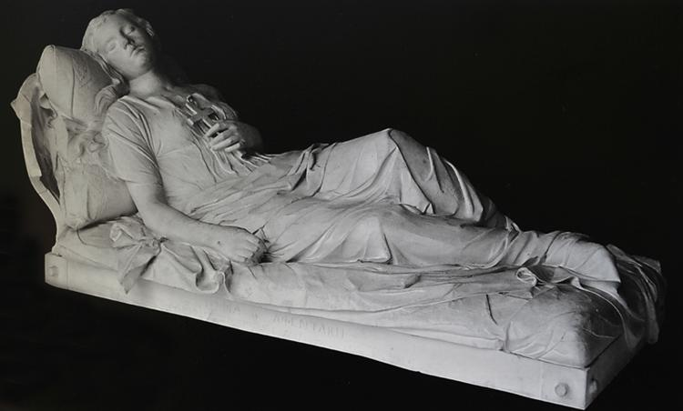Beauty (cast from the family tomb of Wisdom Afentaki in the First Cemetery of Athens), 1878 - Yannoulis Chalepas