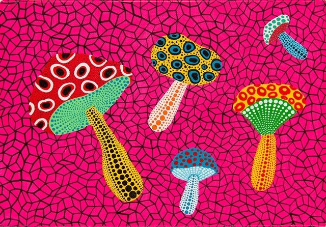 Mushrooms, 1995 - Yayoi Kusama