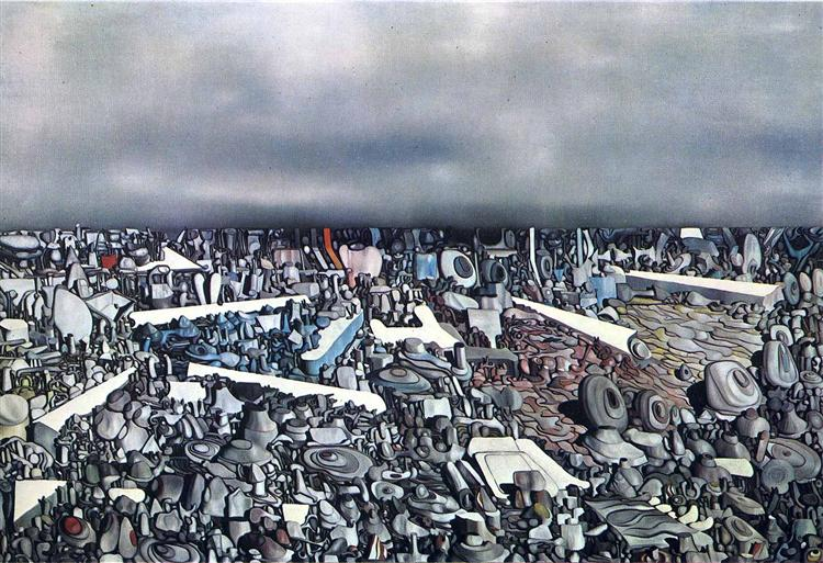 Multiplication of the Arcs, 1954 - Yves Tanguy