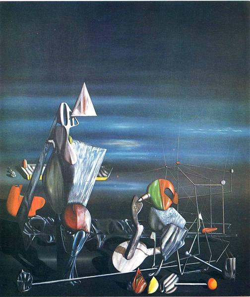 Slowly Toward The North, 1942 - Yves Tanguy