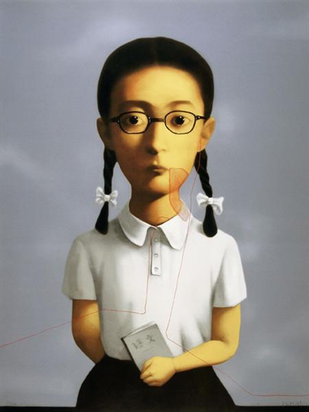 Big Family Girl, 2006 - Zhang Xiaogang