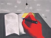 Writing - Zhang Xiaogang