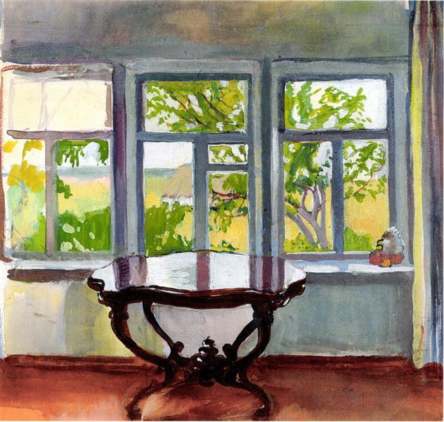 veranda spring zinaida serebriakova. Black Bedroom Furniture Sets. Home Design Ideas