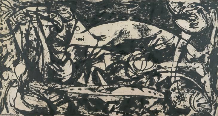 Number 14, 1951 - Jackson Pollock